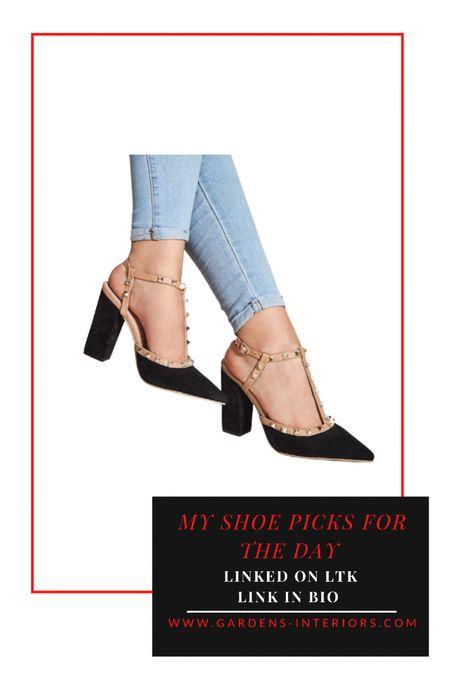 Black Sudded Heels   #falloutfit #fallshoes #workwear   #LTKworkwear #LTKsalealert #LTKshoecrush