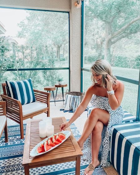 Outdoor living is what summer is all about!! Plus this maxi dress is just the cutest! 🙌🏼🌿☀️ http://liketk.it/3g4va #liketkit @liketoknow.it #LTKhome #LTKunder50 #LTKstyletip #ltksummer