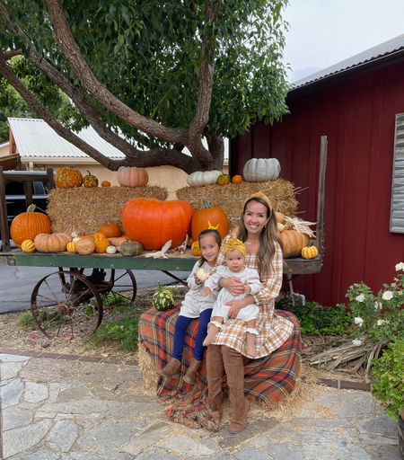 Went to the pumpkin patch today with the girls for Milan's field trip!   #LTKSeasonal #LTKfamily #LTKkids