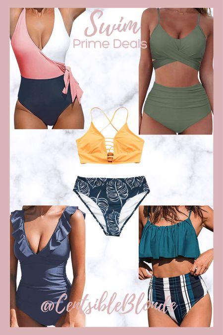 Amazon swim prime deals, bathing suits, women's swimsuits.   http://liketk.it/3i9US #liketkit @liketoknow.it #LTKunder50 #LTKsalealert #LTKtravel
