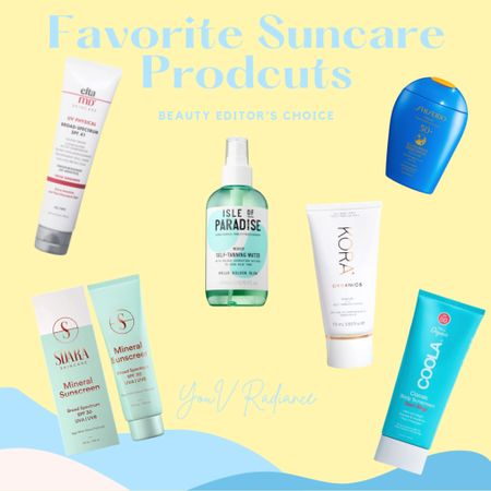 Some of my favorite sun care and self tanning products! ☀️ http://liketk.it/3fC6r #liketkit @liketoknow.it #sunscreen #suncare #skincare #selftanner #tanningproducts