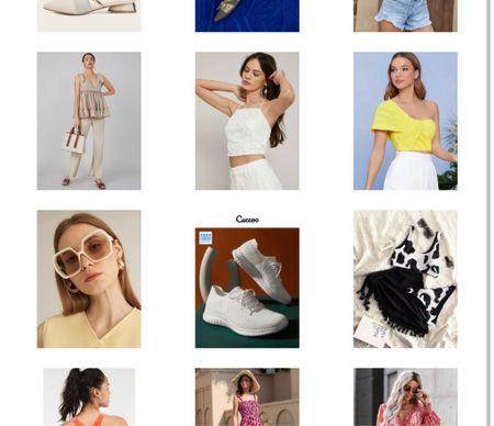 Shein crop tops Accessories  Dresses  #LTKunder50 #LTKSeasonal #LTKstyletip