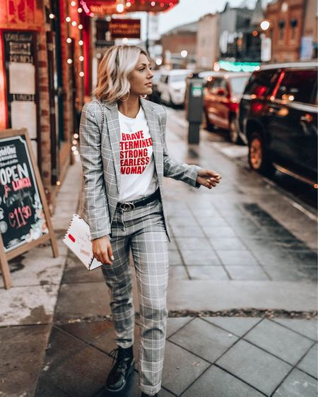 Brave. Determined. Strong. Fearless. WOMEN ❤️💪🏼 This is my favorite suit! I have been able to style it so many different ways and get soooo many compliments on it! It's so affordable, good quality, and SO CUTE! http://liketk.it/2BXQd #liketkit @liketoknow.it