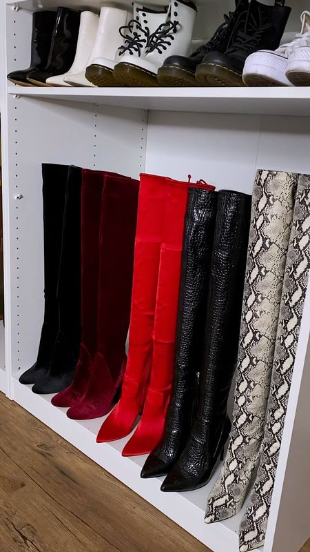 Must have boot shapers for your over the knee boots. You will definitely need these for your fall and winter season boots.  . . . . . . Fall Boots, Winter Boots, Over-The Knew Boots, Brown Boots, Fall Fashion, Winter Fashion, Fall Looks, Winter Looks, Booties, Amazon Finds, Tall Boots  #LTKshoecrush #LTKstyletip #LTKSeasonal