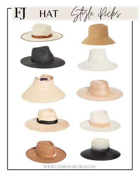 Summer hats http://liketk.it/3hzhO #liketkit @liketoknow.it #LTKunder50 #LTKunder100 #LTKsalealert