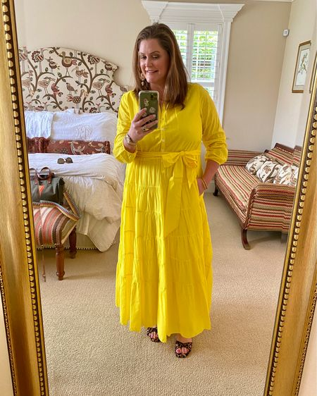 """I've been searching high and low to find another GREAT yellow summer dress and I """"think"""" I have finally found one that checks all the boxes….affordable, breezy - I love the chic above-the-ankle length and sheer cotton voile fabric (read: breathable).  Plus, it's made with organic cotton that is grown without chemical fertilizers and pesticides from non-genetically modified seeds.  Summer Dresses   Yellow Dress   Beach Coverup   Affordable Fashion   J. Crew   #LTKunder50 #liketkit @liketoknow.it #LTKcurves http://liketk.it/3hi5U"""