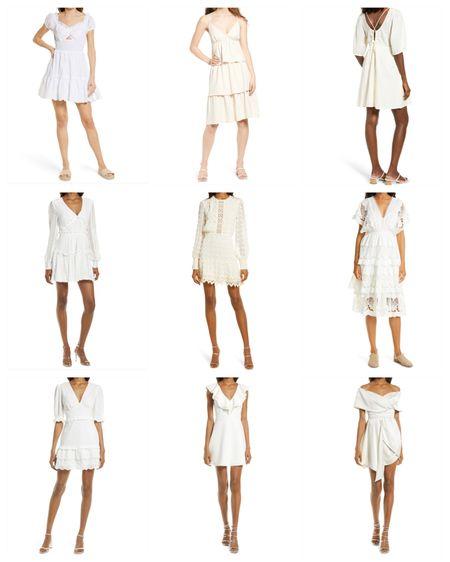 white summer dresses @liketoknow.it http://liketk.it/3hM88 #liketkit #LTKunder50 #LTKunder100