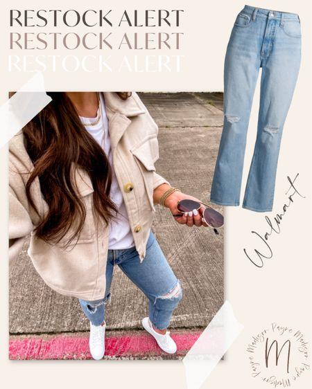 Restock Alert!! These jeans are back!! Hurry! #walmart #walmartfinds #walmartdeals #walmartstyle #walmartfashion #jeans #fallfashion #falloutfits   #LTKstyletip #LTKunder50 #LTKSeasonal
