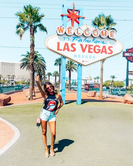My 4th time in Vegas and finally made it to this sign! 📸 We're having a great time and can't wait for @kelsslayt to get in tonight! 👯♀️🎉👯♀️  - - -  http://liketk.it/2ESBr @liketoknow.it #liketkit #LTKunder100 #LTKunder50 #LTKtravel #LTKshoecrush #LTKitbag #LTKsalealert