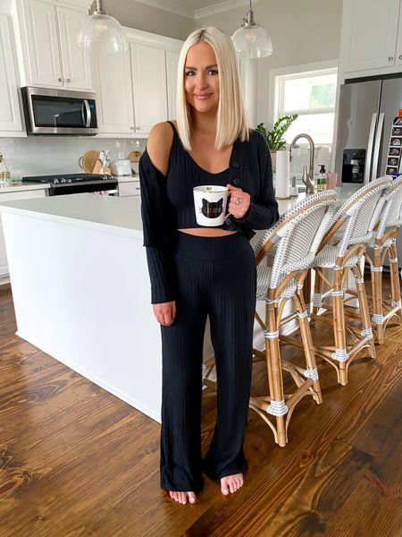 Loungewear Lounge set Cardigan set Abercrombie style Size: XS in all      #LTKhome