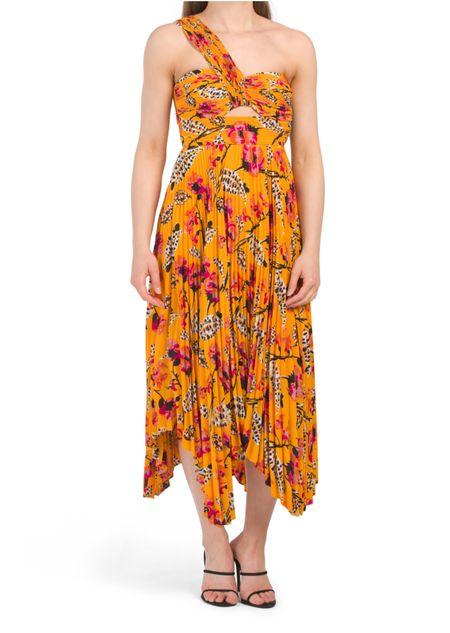 🚨TJ MAXX Clearance Find: ALC Aurora Dress 🚨✨ | Summer Dress | Wedding Guest Dress | Yellow Floral Dress | Maxi Dress | Floral Dress | Designer for Less | TJ Maxx Find | TJ Maxx Haul | Under $200 | TJ Maxx Clearance |   #LTKsalealert #LTKwedding #LTKstyletip