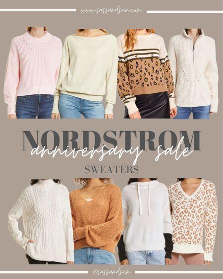 Nordstrom Anniversary Sale Sweaters  #LTKsalealert #LTKSeasonal #LTKunder50
