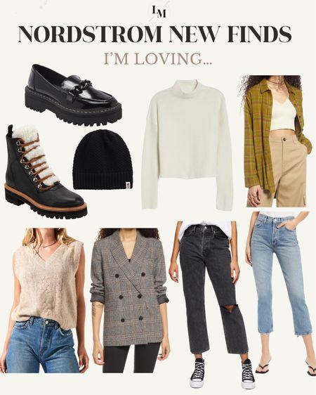 New Nordstrom finds I'm loving for fall!   #LTKSeasonal #LTKshoecrush #LTKstyletip