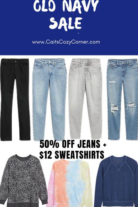 Old navy sale On Sweatshirts and pants   #LTKsalealert #LTKSeasonal #LTKunder50