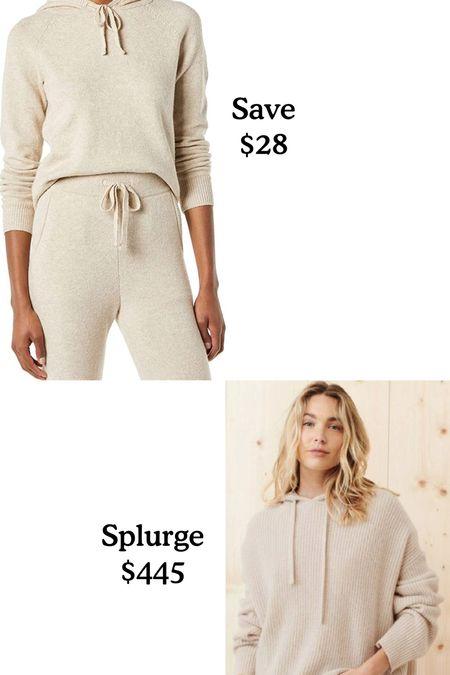 Splurge or save.  Hoodie sweater. Amazon find it Jenni Kayne?  #LTKsalealert #LTKunder50 #LTKSeasonal