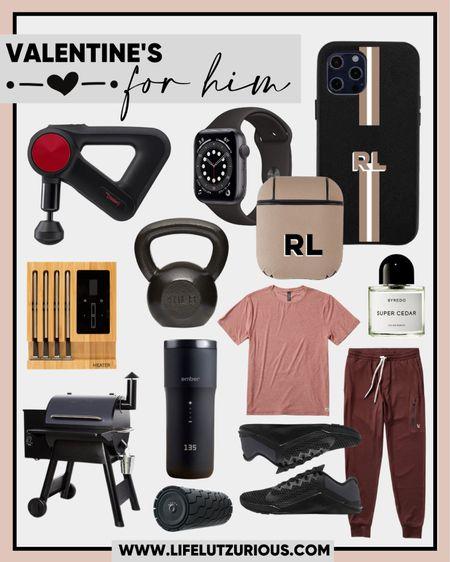 Valentine's Day gift ideas for HIM, joggers, Viori, massager, Theragun, Ember, coffee mug, grill, running shoes, workout wear http://liketk.it/37nX6  #liketkit @liketoknow.it #LTKVDay #LTKunder100 #LTKmens