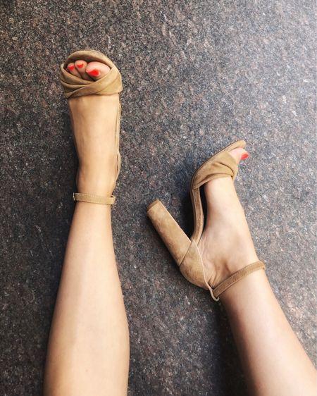 Open toe neutral sandals from Steve Madden this summer. ☀️ #sotd   #LTKshoecrush #LTKunder100 #LTKstyletip