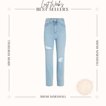 High Waisted straight leg jeans  Size 0 Half off in cart   #LTKstyletip #LTKfit #LTKsalealert