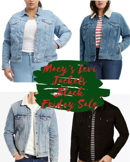 The best gift is the gift that can be worn all year long - a denim jacket! These Levi's Denim Jackets from Macy's are all under $60 and make the perfect gift! 💙 This Black Friday sale is one I've been waiting for! #LTKunder100 @liketoknow.it.family  http://liketk.it/324Zw #liketkit @liketoknow.it #LTKgiftspo #LTKsalealert