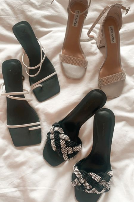 Nordstrom rack shoe haul, such cute heels   #LTKunder50 #LTKsalealert #LTKshoecrush