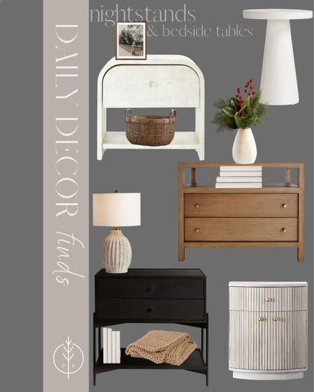 Bedroom furniture, bedside tables, nightstands & holiday decor    #LTKSeasonal #LTKHoliday #LTKhome