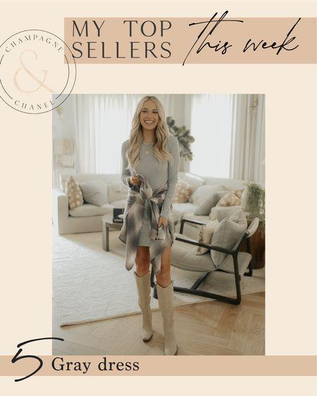 Top sellers this week - gray dress