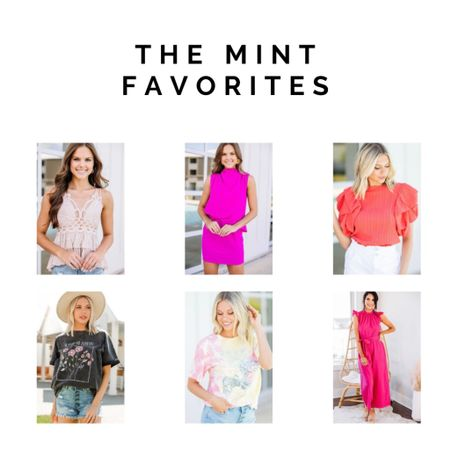 Bright colors and graphic tees, shop the mint julep http://liketk.it/3h7ya #liketkit @liketoknow.it #LTKunder50 #LTKtravel #LTKworkwear