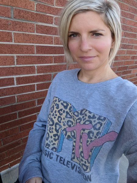 MTV is still my jam! I love these vintage MTV logo sweatshirts and t-shirts! #mtv #vintage  #LTKunder50
