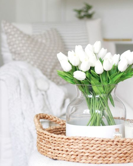 These faux tulips are so realistic!  #LTKSeasonal #StayHomeWithLTK #LTKhome