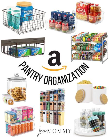 Amazon pantry organization picks! I use some of these items in my pantry.   #LTKunder100 #LTKunder50 #LTKhome