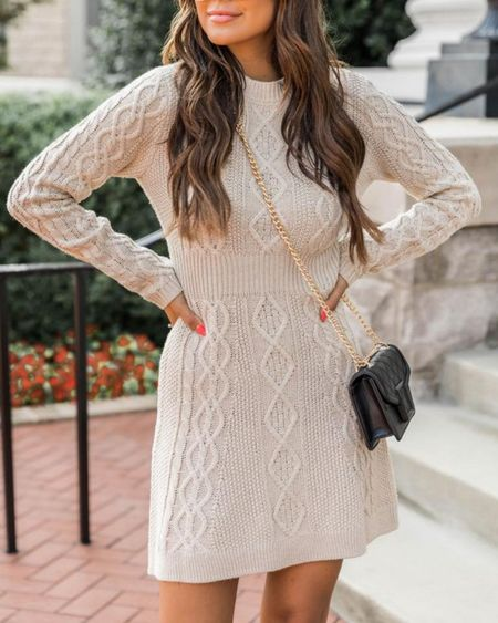 Pink Lily Fall Outfits  Sweater Dress  ,tts            http://liketk.it/3pRsD @liketoknow.it #liketkit #LTKGiftGuide #LTKHoliday #LTKSeasonal #LTKsalealert #LTKunder50 #LTKunder100 #LTKworkwear #LTKFall #LTKGifts | Travel Outfits | Teacher Outfits | Back to School | Casual Business | Fall Outfits | Fall Fashion | Pumpkins| Pumpkin | Booties | Boots | Bodysuits | Halloween | Shackets | Plaid Shirts | Plaid Jackets | Activewear | White Sneakers | Sweater Dress | Fall Dresses | Sweater Vests | Cardigans | Sweaters | Faux Leather Pants | Faux Leather Jackets | Coats | Fleece | Jackets | Bags | Handbags | Crossbody Bags | Tote | Wedding Guest Dresses | Gifting | Gift Guide | Gift Ideas | Gift for Her | Mother in Law Gifts |