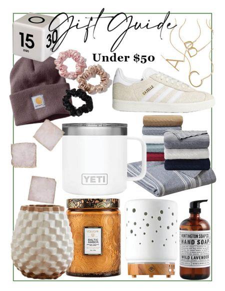 Gift guide // Under $50 // Holiday farmhouse  #LTKGiftGuide #LTKunder50 #LTKHoliday