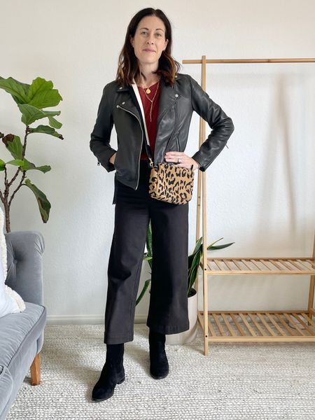 Styling the Dolly Western boot from Freda Salvador - fit - TTS or size up 1/2 - use code FREDAFAMILY for 20% off!  Bag - Clare v  Jacket - AllSaints Dalby Jacket size up two sizes - it fits small!! Pants - true to size or size up one  Tank shirt - Everlane - true to size  #westernboot   #LTKstyletip #LTKshoecrush #LTKsalealert