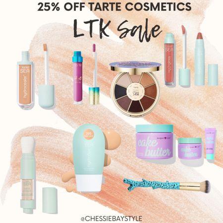 25% off at Tarte Cosmetics! ❤️  #LTKstyletip #LTKSale #LTKsalealert