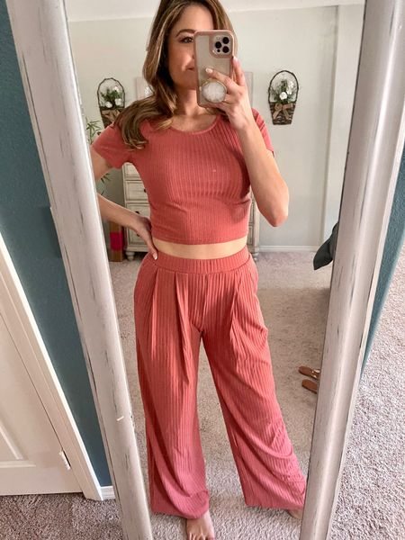 This 2 piece set from Amazon is worth it! So comfy and comes in other cute colors too   @liketoknow.it http://liketk.it/3fl0q #liketkit #LTKunder50 #LTKstyletip #LTKhome