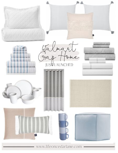 Walmart Gap Home just launched and it's SO pretty!!! Affordable and pretty finds for your bedroom, living room, and kitchen!! Classic styles to refresh your spaces!! Prices are amazing!!   #LTKhome #LTKunder50