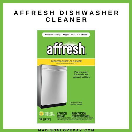 Affresh Dishwasher Cleanerhttps://bit.ly/3go9iE4   Power away—the right way. Affresh dishwasher cleaner is specially formulated to help remove limescale and mineral build-up that can be unsightly and could affect your dishwasher's performance. Each tablet is designed to clean inside your machine while your detergent cleans your dishes.   amazon home, amazon finds, home, kitchen, dishwasher     #LTKbacktoschool #LTKhome #LTKunder50
