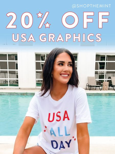 Today only!!! The best more comfy tees!! Just in time for the 4th of July!!   http://liketk.it/3hTtW @liketoknow.it #liketkit #LTKsalealert #LTKstyletip