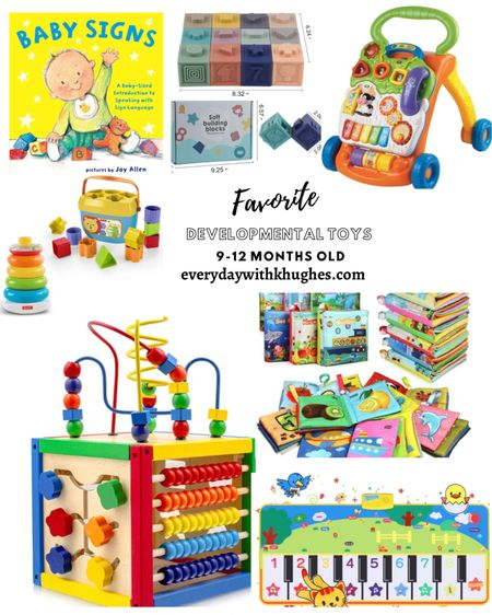 Favorite Development Toys For Babies ages 9-12 months http://liketk.it/3epln #liketkit @liketoknow.it @liketoknow.it.family #LTKbaby #LTKunder50