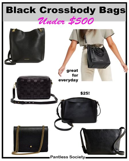 Black crossbody bags. Fall outfits. Fall outfit. Fall bag. Hands-free bag. Mom bag. Under $500. Holiday gift.   #LTKGiftGuide #LTKitbag #LTKworkwear