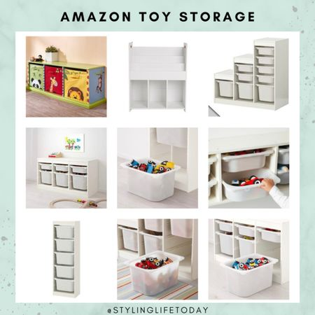 Toy storage. Storage solutions. Amazin home. Kids. Playroom. Toys  #LTKfamily #LTKhome #LTKkids
