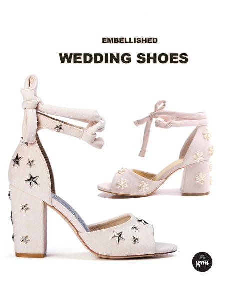 Dreamy embellished shoes for your wedding day or bridal shower!!   #LTKshoecrush #LTKstyletip http://liketk.it/3g4fP #liketkit @liketoknow.it