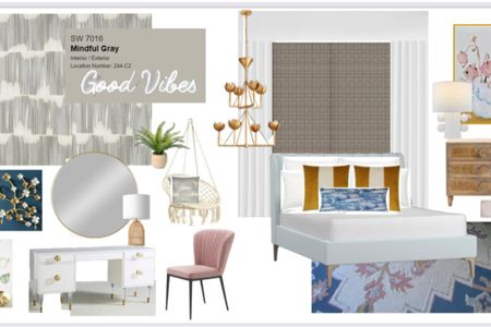 So excited for Preslees new room! Linked a bunch here and will link rest on other image