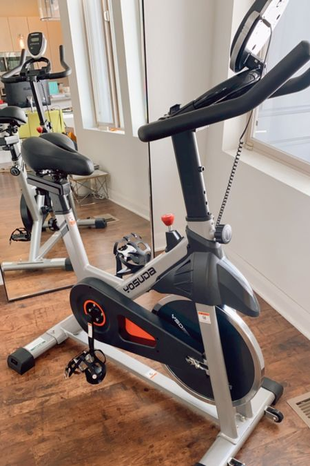 Starting my fitness journey with the help of this bike.  —   #LTKfit