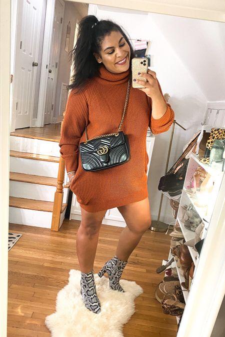 Sweater dress from amazon that is curvy girl friendly! Wearing an XL. #liketkit http://liketk.it/2YmWJ @liketoknow.it #amazon #amazonfashion #amazonfinds #ltkcurves #sweaterweather  #LTKunder50 #LTKshoecrush #LTKFall