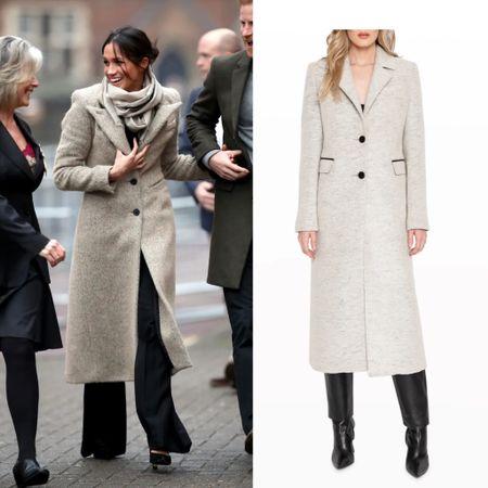Meghan inspired coat #fall #longcoat   #LTKstyletip