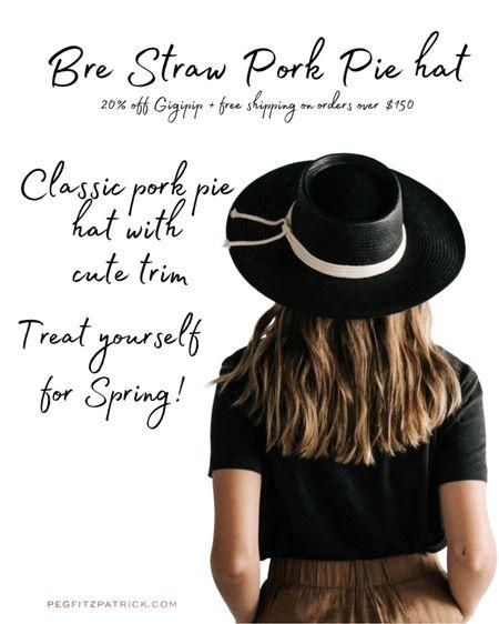 I could not resist getting this hat for spring! Isn't it adorable?   #LTKSpringSale #LTKunder100 #LTKSeasonal