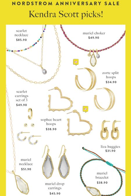 Kendra Scott Nordstrom SALE…. . If you love KS your gonna love this SALE so many fun pieces! . Great prices and pieces perfect for everyday wear. ☀️ .   #LTKsalealert #LTKstyletip
