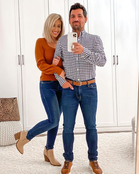 Nordstrom anniversary sale fall couples his & hers outfits ideas   http://liketk.it/2UVQN    #liketkit @liketoknow.it #LTKunder50 #LTKsalealert #LTKmens