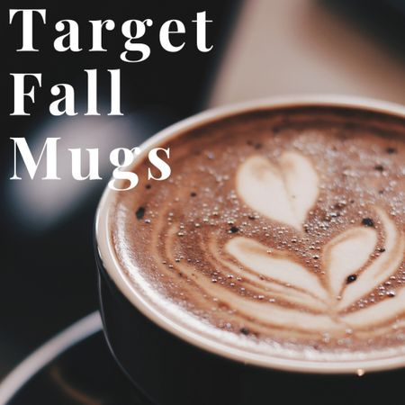 Target Fall Mugs!  A fun way to bring the fall vibes into your day to day!   #LTKGifts #LTKhome #LTKHoliday